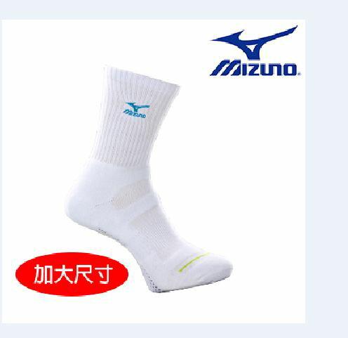 【登瑞體育】MIZUNO 加大男運動厚底中統襪_32TX600421