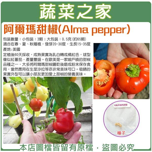 【蔬菜之家】阿爾瑪甜椒種子(共2種規格可選)