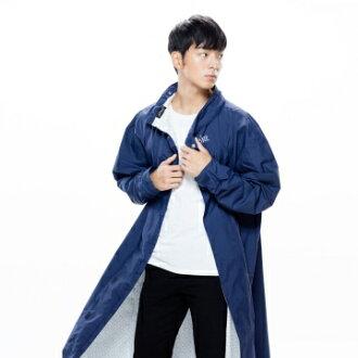 MORR時尚機能風雨衣 - 連身雨衣 PostPosi反穿雨衣 午夜藍