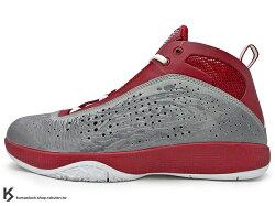 [27.5cm] 2011 經典之作 NIKE AIR JORDAN 2011 26 代 灰紅 QUICK EXPLOSIVE 替換式鞋墊 ZOOM AIR SOLE 熱火隊 Dwyane Wade 代言 (436771-600) !