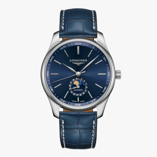 LONGINES 浪琴 L29194920 名匠系列月相紳士腕錶 42mm