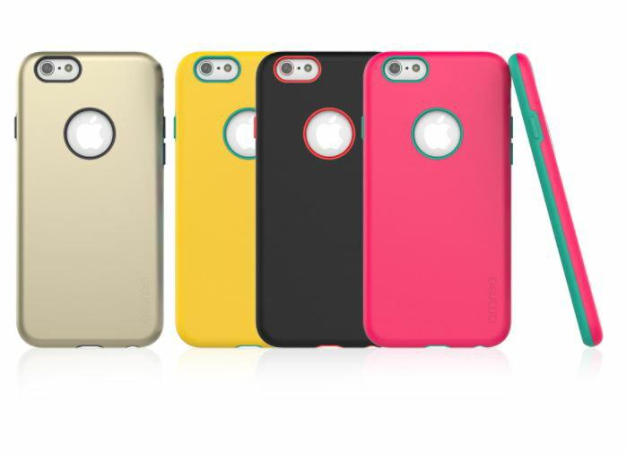 Araree iPhone 6 時尚撞色雙層防摔殼