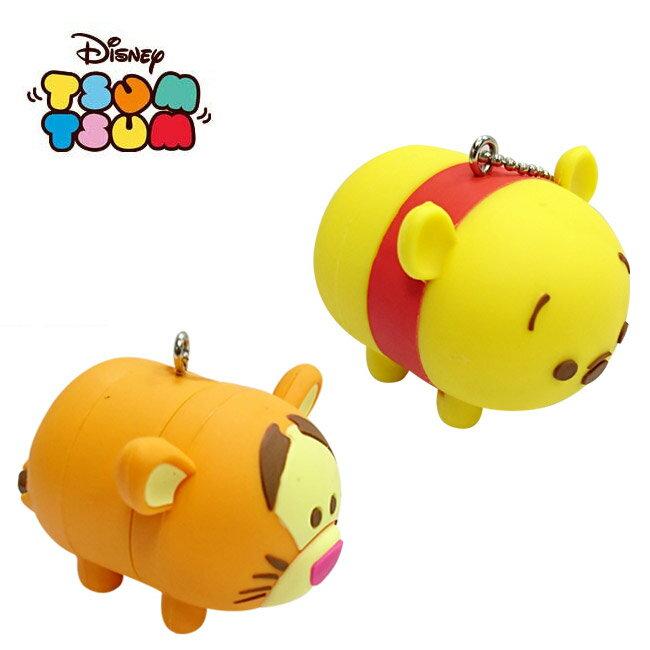 兩款一組 【日本進口】小熊維尼 跳跳虎 TSUM TSUM 疊疊樂 吊飾 迪士尼 Disney - 079777