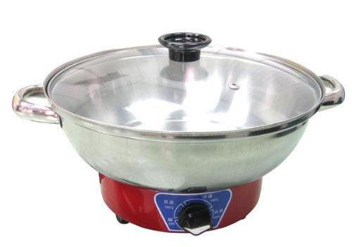 【億禮3C家電館】歐斯樂30cm白鐵電火鍋TR-300S.超大鍋面,不銹鋼材質.台灣製