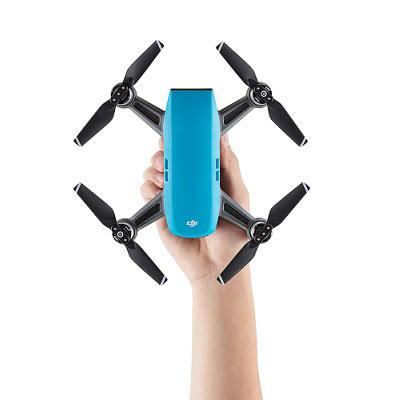 得意專業家電音響:DJISpark迷你航拍機-全能套裝晴空藍(2K648)
