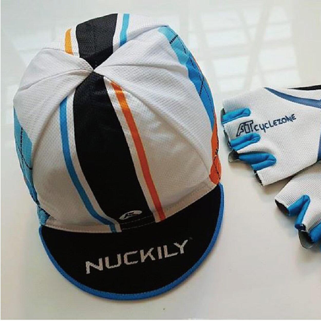 美麗大街【BK106012301】NUCKILY透氣舒適自行車單車小帽