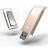 iKlips Apple專用32G USB 3.0極速多媒體行動碟 金色【亞果元素】蘋果/APPLE/手機/3C/iPhone/儲存/隨身碟/輕便 - 限時優惠好康折扣