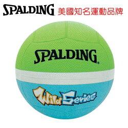 【H.Y SPORT】 斯伯丁 SPALDING WILD SPB83008 12片軟式 躲避球 2號球 淺綠/藍色