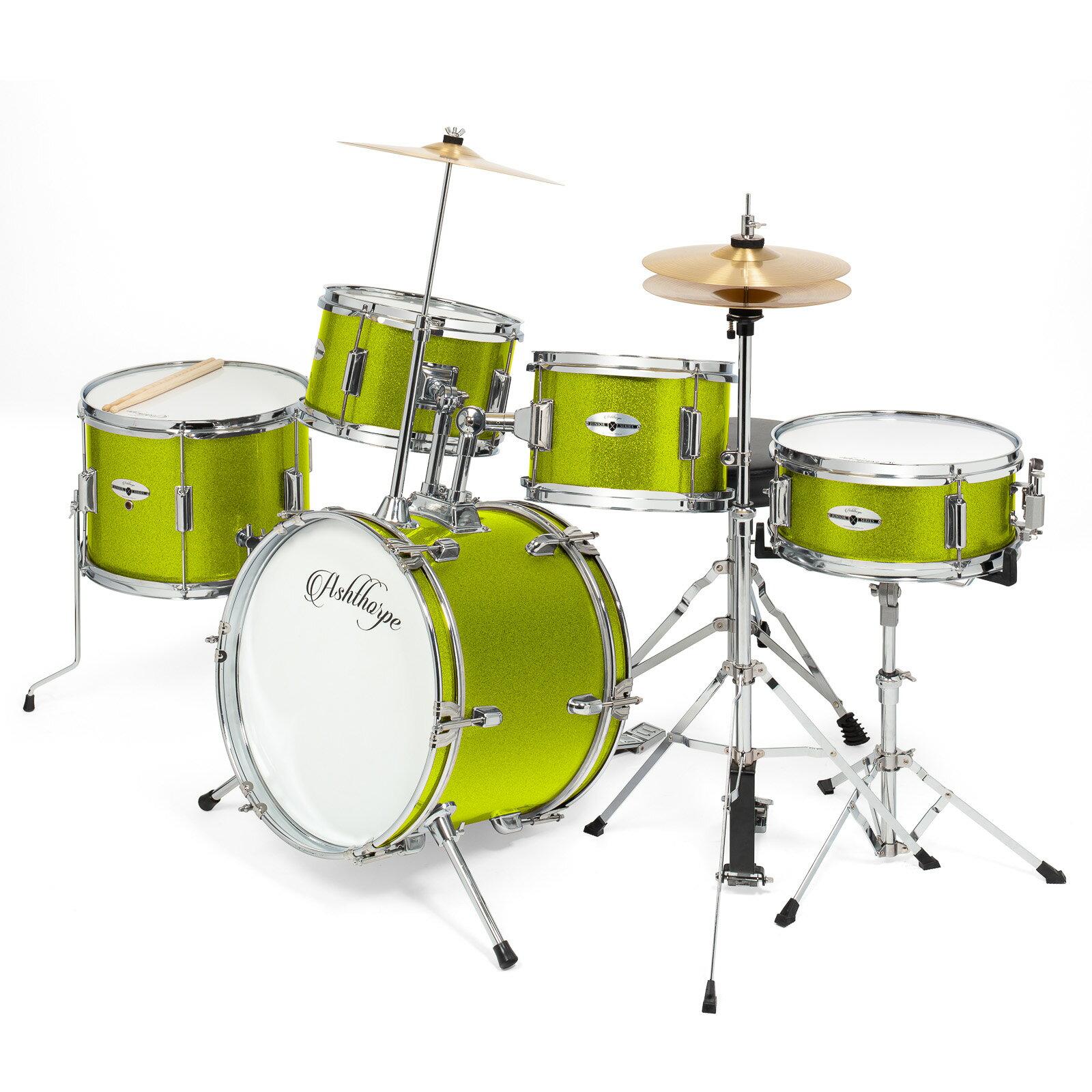 Mix Wholesale Ashthorpe 5 Piece Complete Kid S Junior Drum Set With