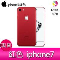 Apple 蘋果商品推薦【iphone7紅色】 蘋果Apple iPhone 7 128GB 防水防塵IP67 4.7吋智慧型手機-現貨