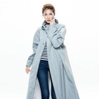 MORR時尚機能風雨衣 - 連身雨衣 Dimensional前開雨衣 紐約灰