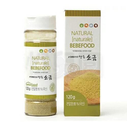 韓國bebefood寶寶福德天然海鹽120g【悅兒園婦幼生活館】