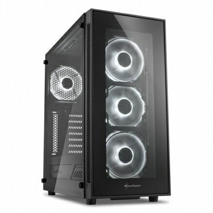 旋剛SharkoonTG5炫光者(白)電腦機殼PC機殼電競機殼電腦機箱【迪特軍】