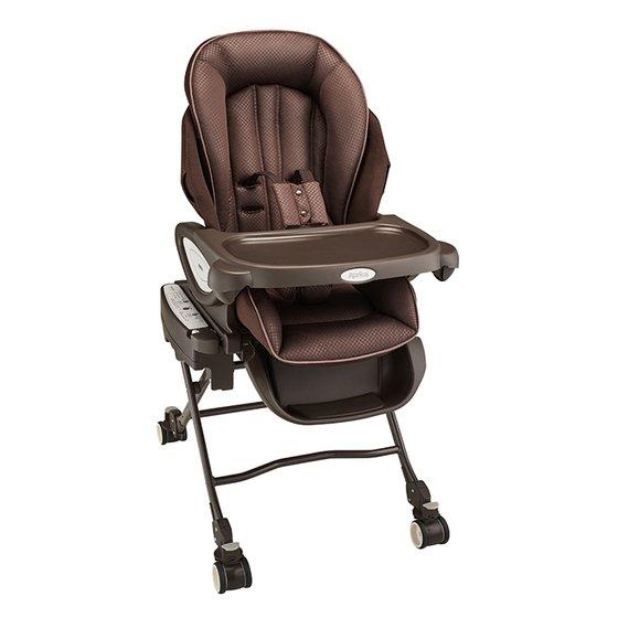 Aprica愛普力卡 YuraLism AUTO Premium Plus 動餐搖椅/餐搖床-天鵝堡【六甲媽咪】