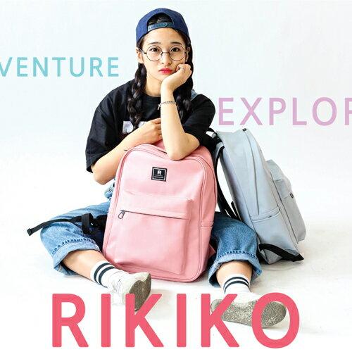 後背包 韓國AFRICA RIKIKO大容量色彩皮革後背包 書包 電腦包 NO.130 검