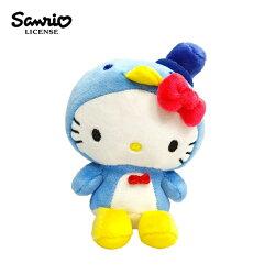 【正版授權】凱蒂貓 山姆企鵝造型 變裝玩偶吊飾 絨毛玩偶 吊飾 Hello Kitty 三麗鷗 Sanrio - 127935