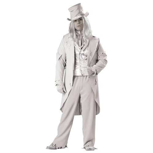 Ghostly Gent Plus Costume - Size: 3X 0