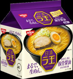 日清5食拉王包麵-豚骨醬油510g
