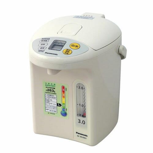 Panasonic 國際牌 3公升 微電腦熱水瓶  NC-BG3001  7段省電定時選擇 - 限時優惠好康折扣