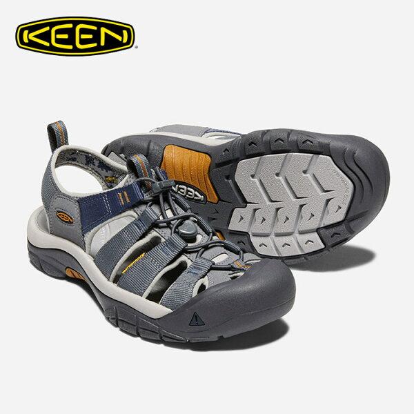 KEEN男款織帶涼鞋NewportHydro1018816城市綠洲(水陸兩用、輕量、戶外休閒鞋、運動涼鞋)