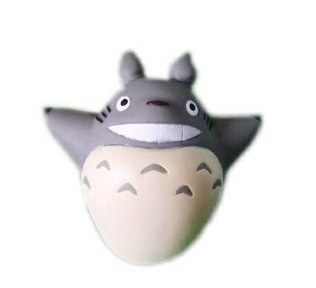【真愛 】10102700067 指套娃娃-灰龍貓飛翔  龍貓 TOTORO 豆豆龍 公仔 擺飾 收藏 玩具 正品