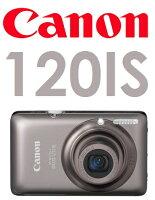 Canon數位相機推薦到【原廠盒裝】佳能 Canon Digital IXUS 120IS 數位相機就在港都網通訊3C生活館推薦Canon數位相機