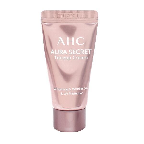 【韓國AHC 隔離霜】AHC 素顏霜提亮隔離粉紅霜10g
