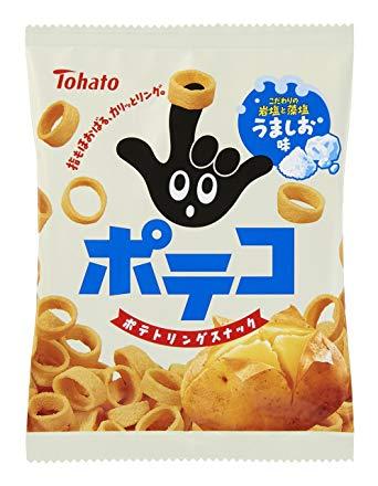 【Tohato東鳩】手指圈圈餅隨身包-鹽味 24g 日本進口零食 3.18-4 / 7店休 暫停出貨 1