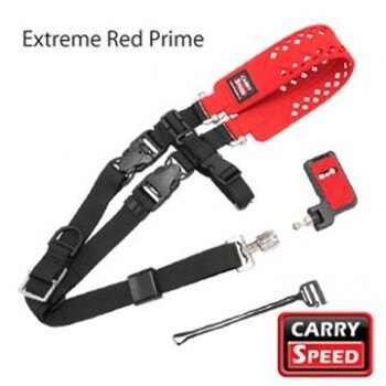 [滿3千,10%點數回饋]CARRY SPEED 速必達 相機背帶-紅(Prime Extreme Red)  立福公司貨 - 限時優惠好康折扣