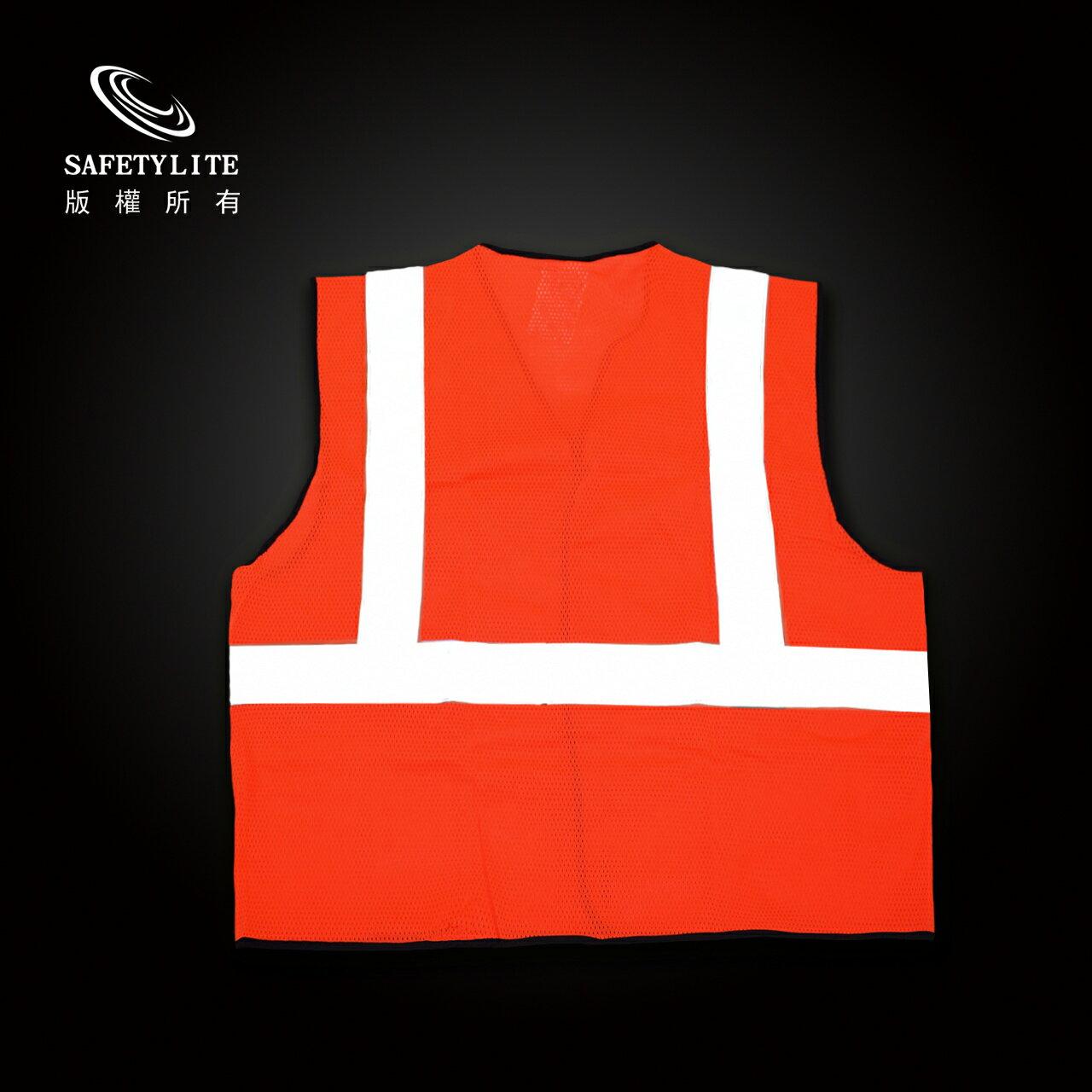 高可見度反光背心 安全背心 3M 24小時全天防護 歐美認證 5
