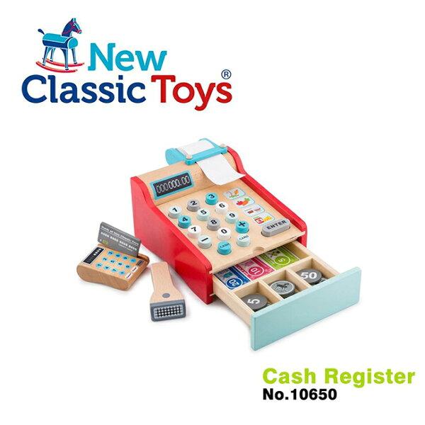 【荷蘭NewClassicToys】木製收銀機玩具10650