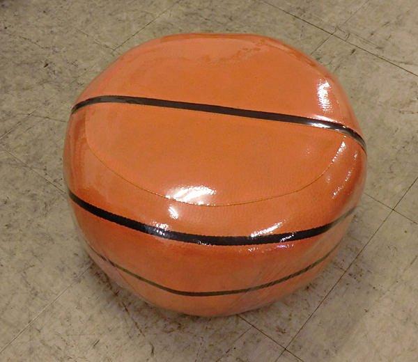 【尚品傢俱】※自運價※ Q-681-51 橘紅色籃球椅/造型椅/腳椅/輔助椅/休閒椅