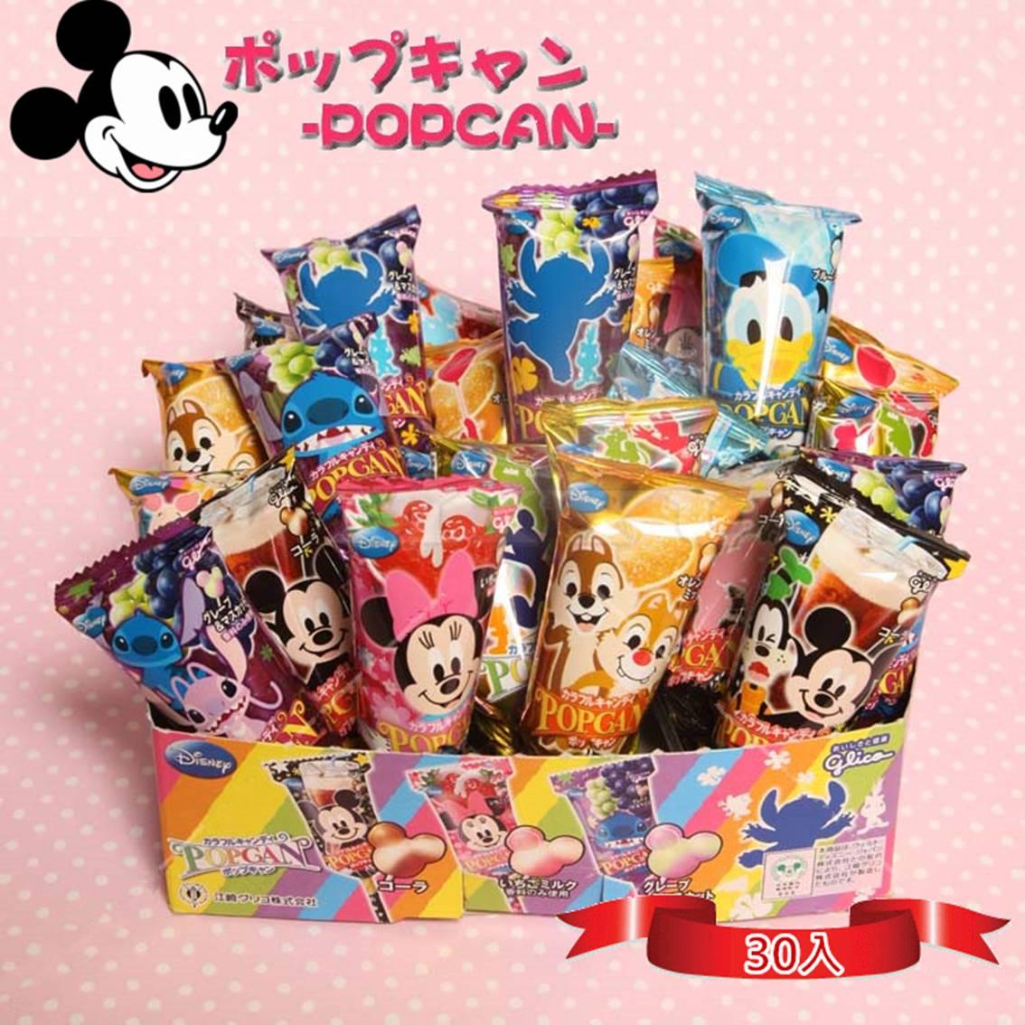 日本Glico 固力果迪士尼棒棒糖 可愛氣球包裝【樂活生活館】