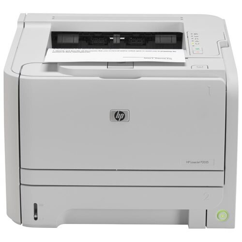 HP LaserJet P2035 Monochrome Laser Printer 0