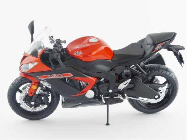 【秋葉園 AKIBA】日本限定品 kawasaki ninja ZX-6R 2014model 摩托車模型 1/12scale 適合一般尺寸公仔 1
