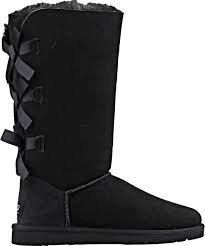 UGG BAILEY BOW TALL 黑 蝴蝶結 女鞋 US 6 1007308W/BLK B