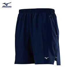 J2TB8A0513(靛藍)股下18cm 微彈性材質內裏褲設計  男路跑褲 【美津濃MIZUNO】