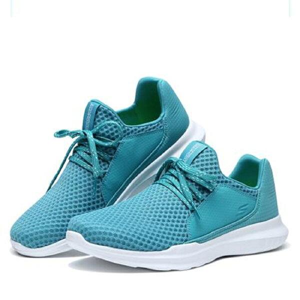 SKECHERS女跑步系列GORUNMOJO(水藍)慢跑鞋14815AQUA【胖媛的店】