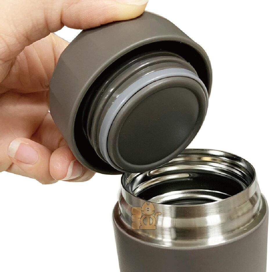 樂扣樂扣 轉蓋不鏽鋼隨身保溫杯 340ml : 灰色、象牙白 保溫瓶