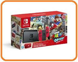 【2018.2 春節強檔】任天堂Nintendo Switch組合- Switch奧德賽同捆主機+薩爾達曠野之息(送冒險指南.地圖)+異度神劍+Switch購物袋