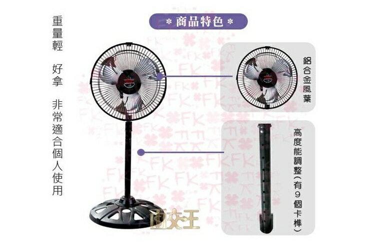 【超商】10吋 涼風扇 AB-1011 180度旋轉 電扇 電風扇 立扇 涼風扇 台灣製 2
