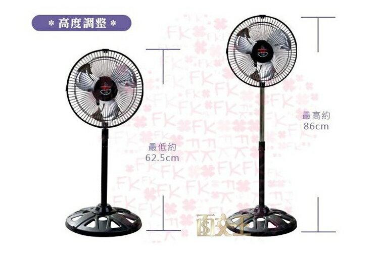 【超商】10吋 涼風扇 AB-1011 180度旋轉 電扇 電風扇 立扇 涼風扇 台灣製 5