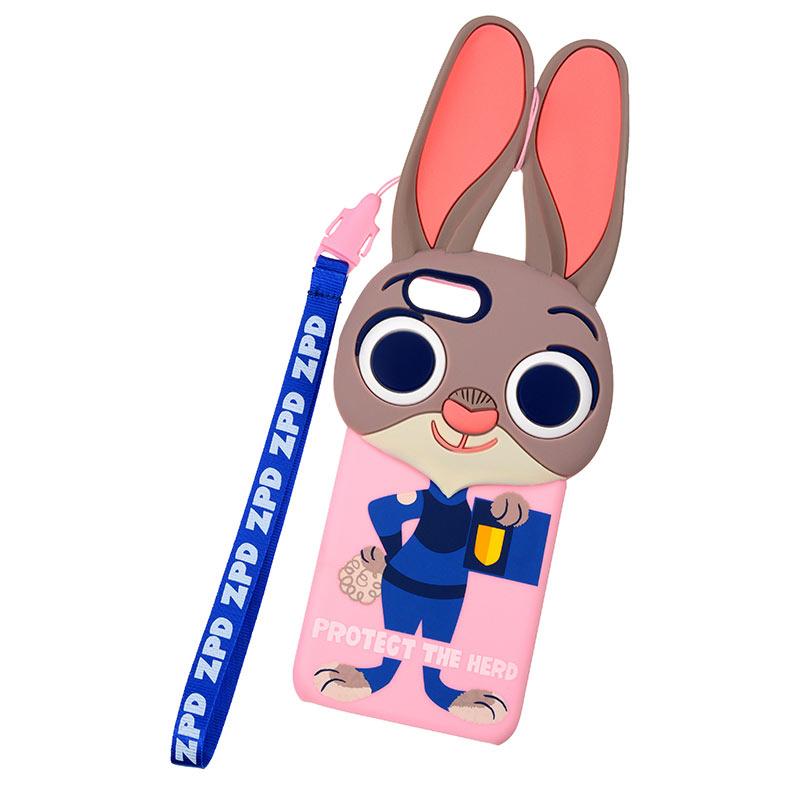 【真愛日本】16042100088I6手機殼-哈茱蒂警察  迪士尼 動物方程式 手機殼 保護殼