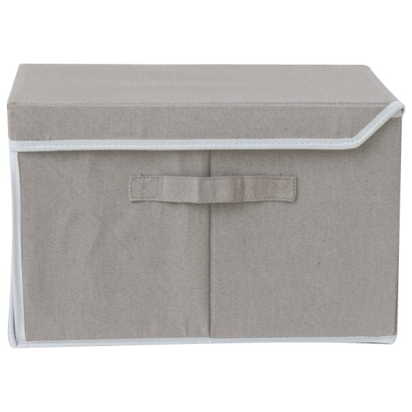 附蓋收納盒 窄型 PRESSO NITORI宜得利家居 2