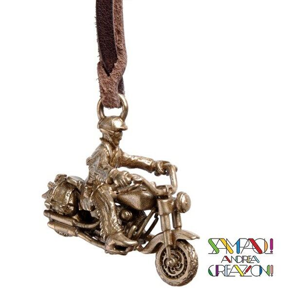 【SAC義大利】青銅掛飾吊飾-哈雷騎士義大利傳統飾品工藝SAC252