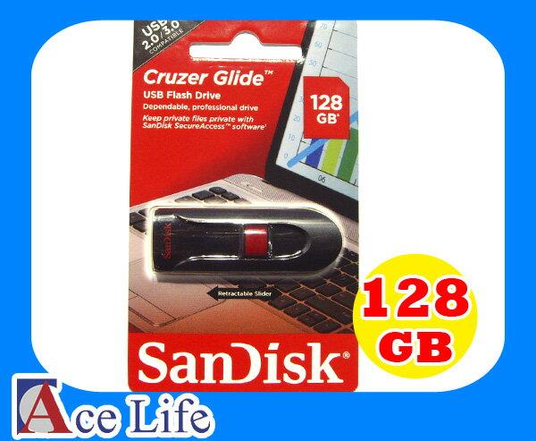 【九瑜科技】Sandisk 128G 128GB Cruzer Glide SDCZ60 CZ60 USB 3.0 隨身碟 快閃碟 U盤 原廠包裝 另有 SDCZ33 64G