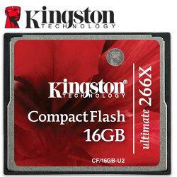 Kingston 金士頓 16GB CF Compact Flash 266X 記憶卡