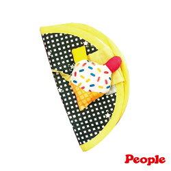 【淘氣寶寶*people 系列滿499,加贈多功能可愛造型固定夾】People新口水防污安撫套-冰淇淋