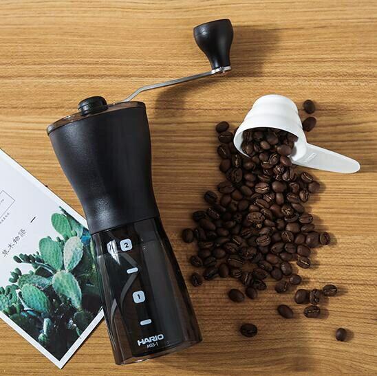 磨豆機 日本HARIO 手動磨豆機 手搖咖啡豆陶瓷磨芯磨粉器 MSS