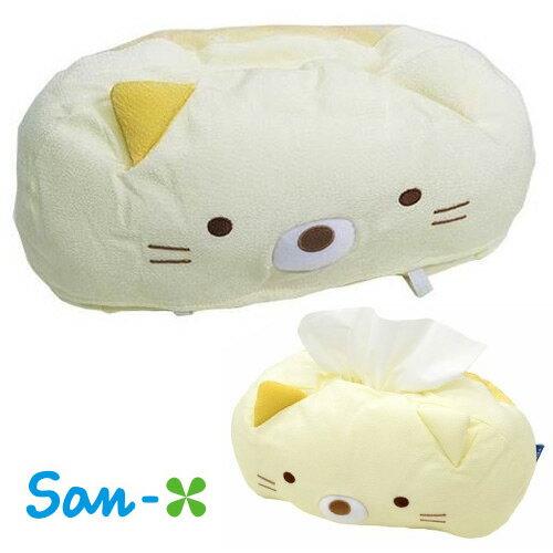 小貓款【日本進口San-X正版】 角落生物 角落公仔 日式和風 面紙套 居家擺飾 - 408930